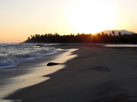 Sunrise, beach at Debulla.